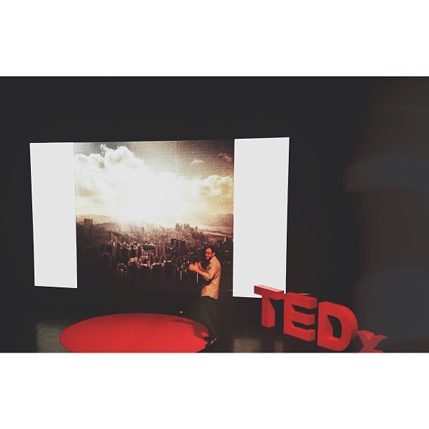 Today @Twheat talked at #TEDxVH about his love of instagram, the #HKInstayay community he helped create here in Hong Kong and the way the app has changed the way we share what we see when we travel. It's a great story, look out for it online. (at Sunbeam Theatre 新光戲院)