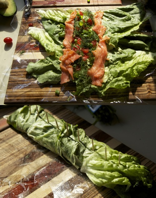 sp00nful:  Smoked Salmon Roll-Ups