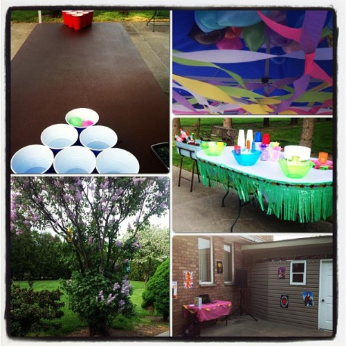 90's party!!! #90's #oldschool #balloons #party #birthday #timetogetdrunk
