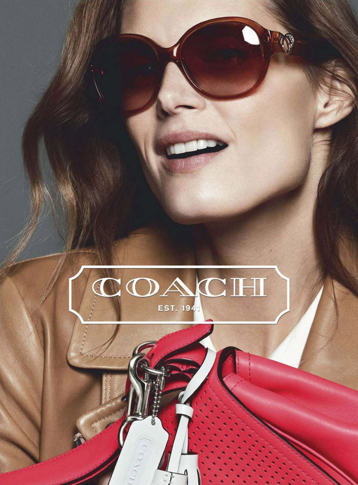 Malgosia Bela for Coash Spring-Summer 2013 Ad Campaign.