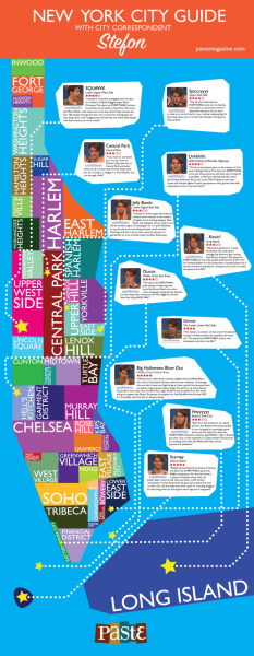 alyssadehayes:  (via Infographic: New York City guide with SNL city correspondent Stefon :: TV :: Features :: Paste)