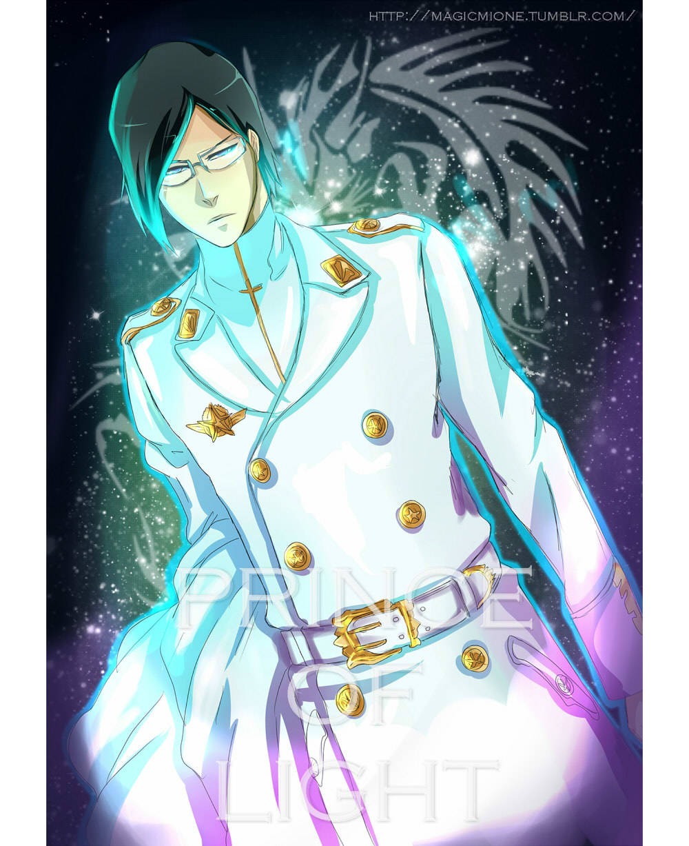 magicmione:  Prince of Light ha? Its kinda cool… I just wanna color our precious quincy <3  Color : me / Panel : Bleach 537 - Tite Kubo