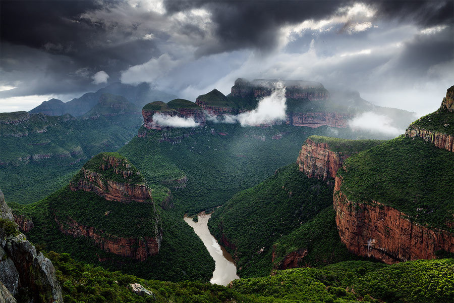 woodendreams:  (by Hougaard Malan)  #Blyde River Canyon #South Africa