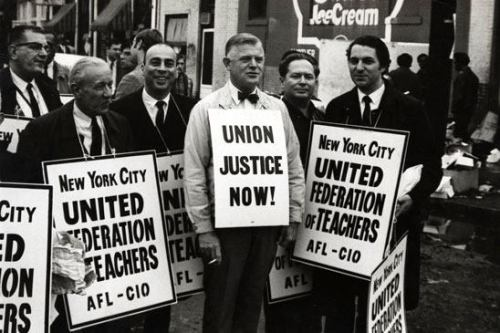Today in labor history, March 16, 1960: The United Federation of Teachers (UFT) is formed to represent New York City public school teachers.