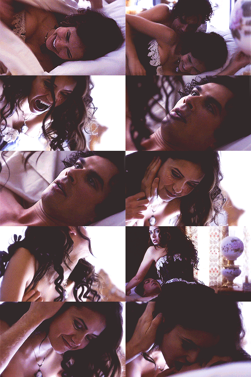 Damon Salvatore x Katherine Pierce - [1x13 Children of the Damned]