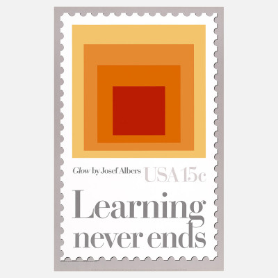 "Learning Never Ends Fab.comBy 1925, former student Josef Albers was the first to join the faculty at the Bauhaus as a ""master.""  In his own words, Albers's primary purpose as an artist was: ""To open eyes."""