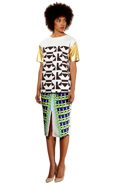 See more pics of Sindiso Khumalo's collection here: http://www.africanprintinfashion.com/2013/04/prints-of-week-sindiso-khumalo-ss13.html