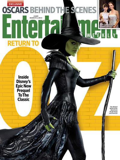 This week in EW: We go behind the scenes of Oz: The Great and Powerful, a film that doubles as a prequel to everyone's childhood.