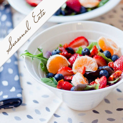 Citrus and Berries Salad