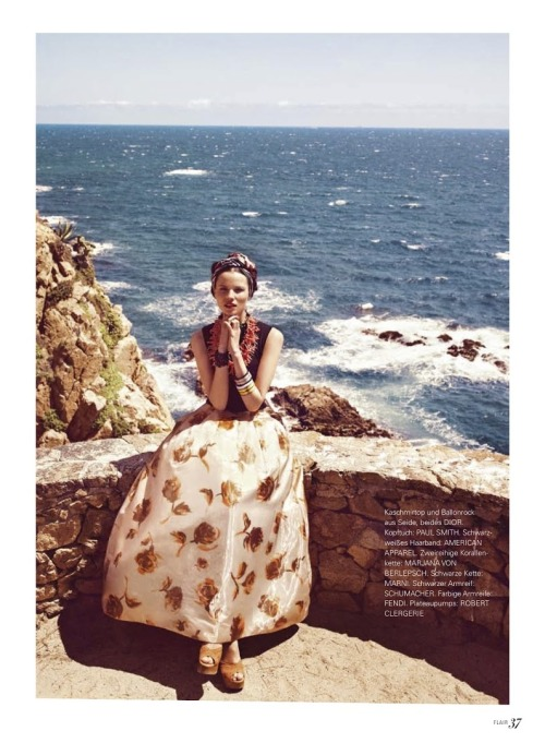 Dior by the sea.