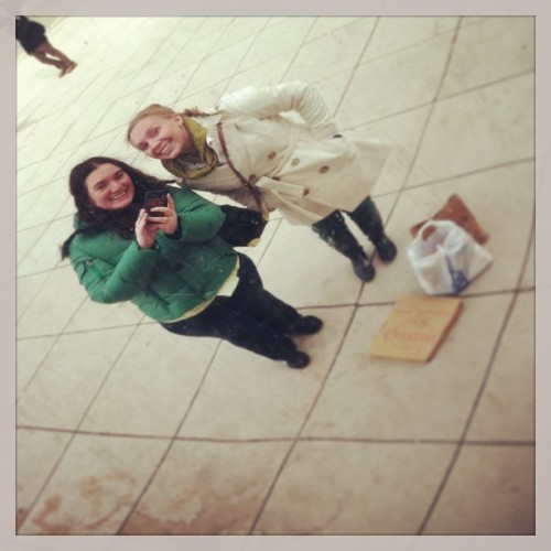 Bean reflection bffs. #chicago #thebean #latergram #chitown @alexlohman