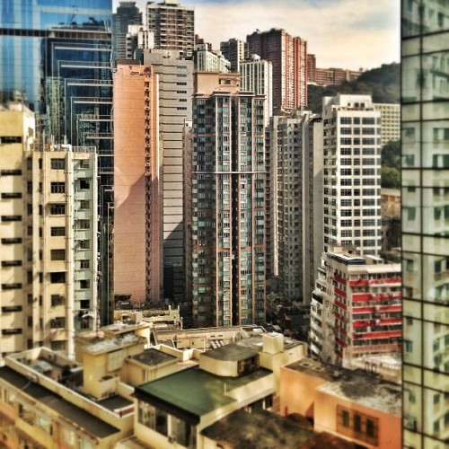 #snapseed #hongkong (at Citicorp Centre 萬國寶通中心)
