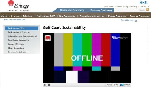 This is Entergy's Climate Adaptation page. No comment.