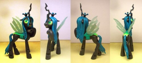 Queen Chrysalis Custom by ~Klaufi