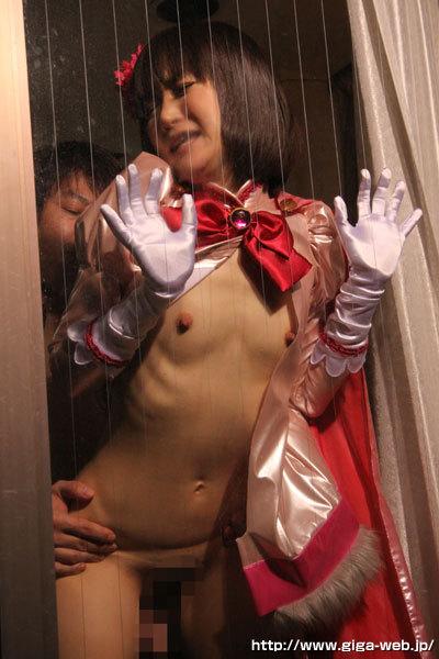 落札された美熟女仮面オーロラ 熟女ヒロイン危機一髪出演女優 若林美緒
