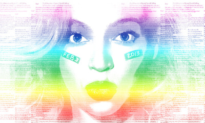 Countdown to the Superbowl. @beyonce #Superbowl #countdown #music #raindow #photoshop