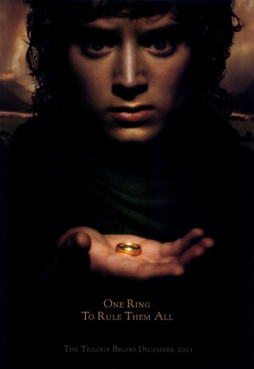 fuckyeahmovieposters:  The Lord of the Rings: The Fellowship of the Ring
