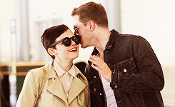 I didn't believe in love at first sight till I met Ginnifer. — Josh Dallas   SO MANY FEELS!