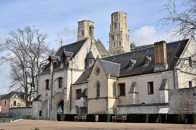 | ♕ |  Abbey gatehouse - Jumièges, Normandy  | by © Philippe_28