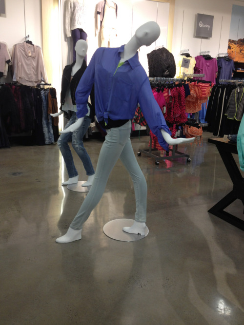 morgan069:  boardgamist:  egilbs:   The sassiest mannequin I have ever seen  Schmarlee mannequin!   Slenderman is looking SASSY this srping.  I was JUST thinking that's the creepiest thing I've seen in a while!  I don't even know how Scott passed up calling him the Slendermannequin.