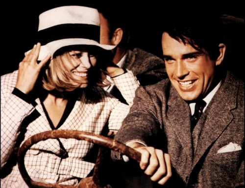 Film of the Day: Bonnie and Clyde, with Faye Dunaway and Warren Beatty. Directed by Arthur Penn. This here's Miss Bonnie Parker. I'm Clyde Barrow. We rob banks.