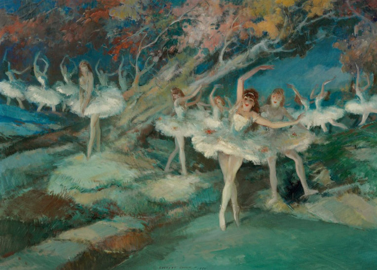 sisterwolf:  Everett Shinn - Ballet