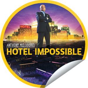 I just unlocked the Hotel Impossible sticker on GetGlue                      5810 others have also unlocked the Hotel Impossible sticker on GetGlue.com                  When hotels go wrong, Hotel Impossible puts things right! Thanks for tuning in to Hotel Impossible. Get more insider knowledge Mondays at 10/9c on Travel Channel and keep checking-in to become a fan! Share this one proudly. It's from our friends at Travel Channel.