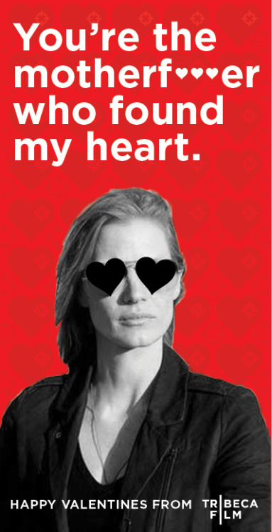 Movie Valentines from TribecaFilm. More here.