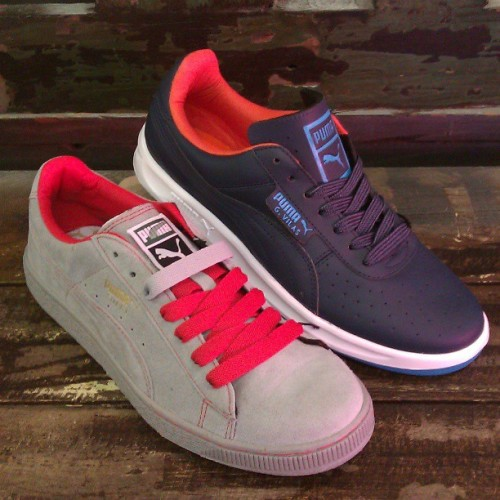 New Suedes and G. Villas in too! #puma #suedes #gvillas #sneakers #spring #sneakers #abbadabbas #l5p #classic #kicks #style