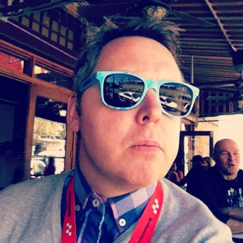 Releasing my inner geek.  (at BBC America RoadHouse (SXSW 2013))