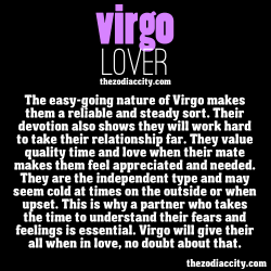zodiaccity:  The Virgo lover.