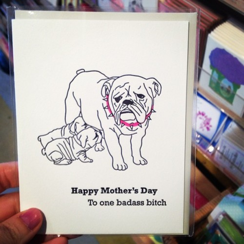 The card I wanted to send, but didn't.