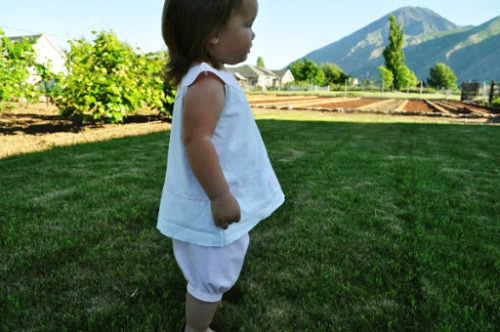 Tutorial – How To Make Gathered Bloomers