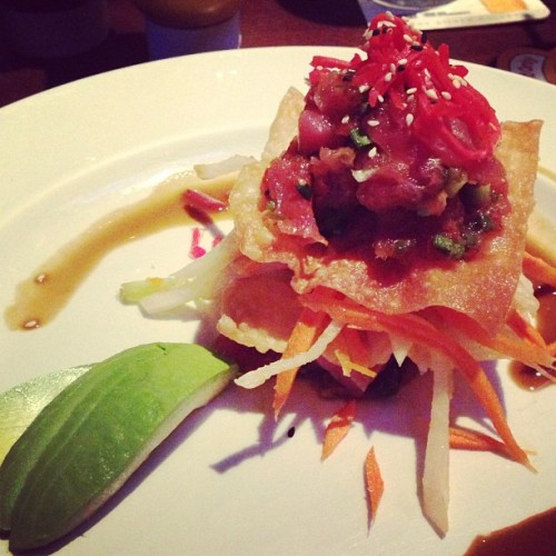 Hawaiian Poke Stack 😋