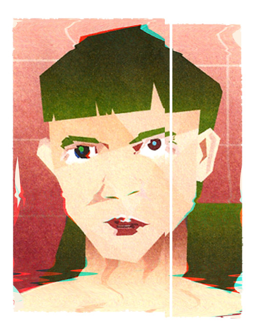 portrait of grimes
