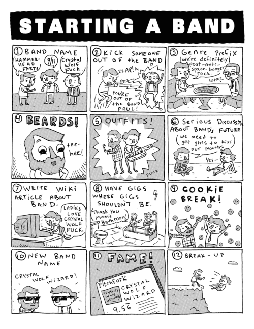 socksonanoctopus:  Funny Comic: Let's Start A Band Dude  It's funny 'cause it's true, sadly enough.  View Post