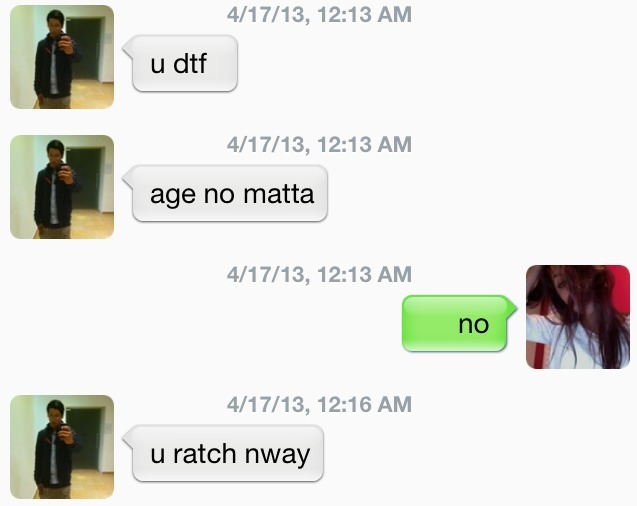 oesoftagus:  alright  Lol ratch