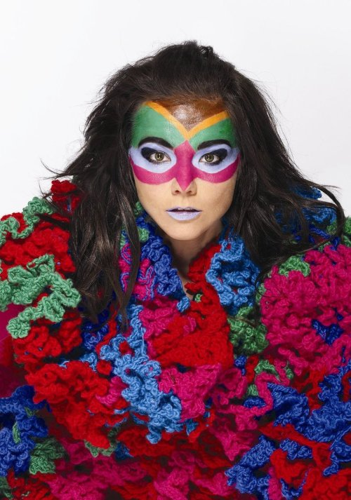 throughkaleidscopeeyes:  björk, you're fucking awesome
