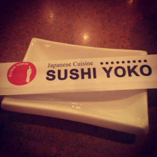 Sushi time! (at Sushi Yoko)