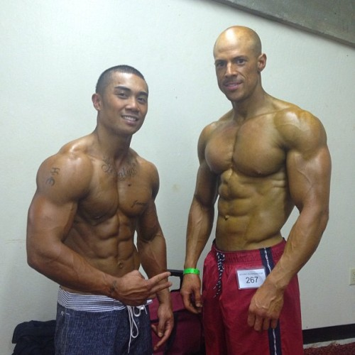 Physique Show during the evening show in Sacramento. Brother @cornizzy on shred mode. His first show and got first callout (got 1st or 2nd correct me) and brought that hardware home. I placed 6 in my class. The physique division was mad stacked in the A,B and C division (by height) Everyone did fantastic. Met some cool cats but most importantly I had pancakes last night. GOTT DAMN they were most exquisite Shout out the cuts that came and participated and put in that work and dedication, no easy task! Big shouts to @kennytali for masterminding my diet and guidance and getting me lean at this show! All his #kensbarbies killed per usual. Big ups to #teamcutz and #teamventura who did the damn thing yesterday as well #teamkensbarbies newcomer Joel walked away with 3 pieces and left on the humble like a boss Loooooooong day but good day. MISSION COMPLETE! Haha. #physiquebodyware #musclehustle #muscleleauge #trainharderthanme #bodesquad #shredzarmy #shredz #ripped #swoldier #orangeskingang ig_fitness_freaks #picotfitness #top_physiques #aesthetics #instagramfitness #championsbreedchampions #nutrition #fitspo #motivation #paleodiet @fitness_models @ig_fitness_freaks @bodesquad @instagramfitness