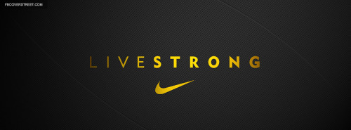 Livestrong Grey Facebook Cover