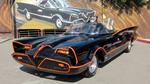 This is amazing!! The famous 60's Batmobile #1 created by George Barris has sold for  $4.62 million!! Now thats a serious chunk of change!  This iconic piece of tv history was ahead of its time, powered by atomic energy too!!  The original batmobile was constructed from a 1955 Lincoln Futura concept car, and was heavily modified, and retooled with all the gadgets, and a super cool paint job!!  This is one of my all time personal favorite television cars. I have always enjoyed all the cool gadgets, and futuristic technology that this car has, which a lot of today is now reality!! :)  ~The Captain OC