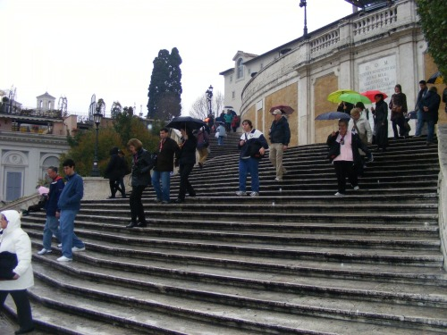 The Famed Spanish Steps