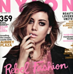 girls aubrey plaza Nylon Magazine