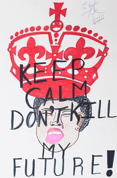 Trevaughn Taylor: Keep Calm Don't Kill My Future