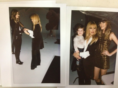 Rachel Zoe:Polaroid fun…behind the scenes at our pre-fall 2013 shoot [via rachelzoe]