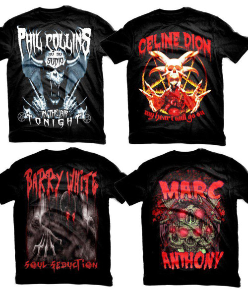 Mock Metal Tees