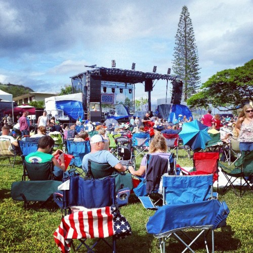 Toby Keith concert.  Yaaaaay #hawaii #mcbh #semperfi  (at Marine Corps Base Hawaii)
