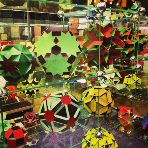 Uniform polyhedra (at Science Museum)