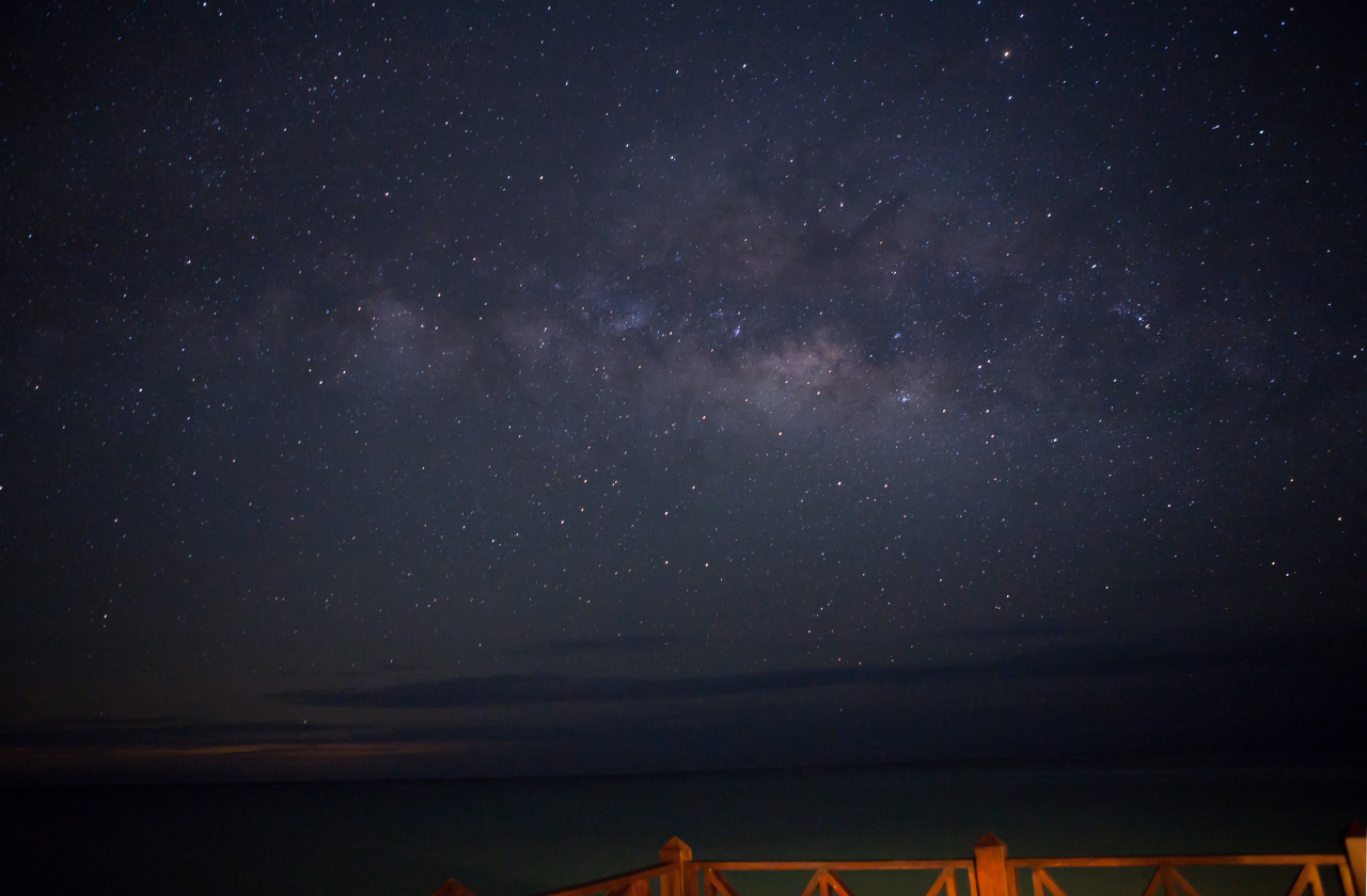 A shot of the Milky Way in Punta Cana, DR.